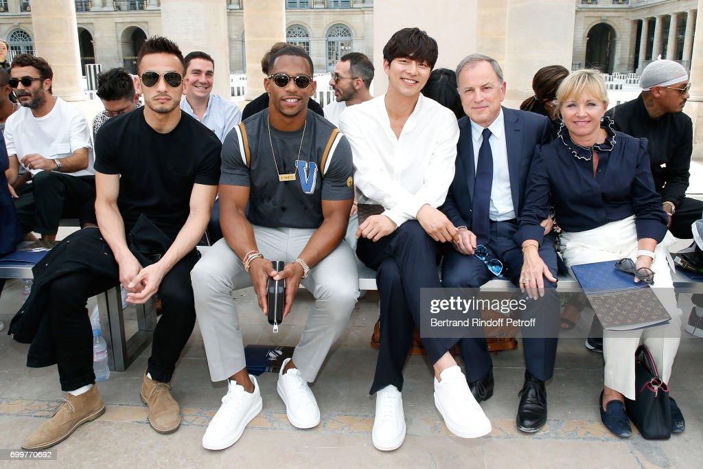 Louis Vuitton : Front Row - Paris Fashion Week - Spring/Summer 2018