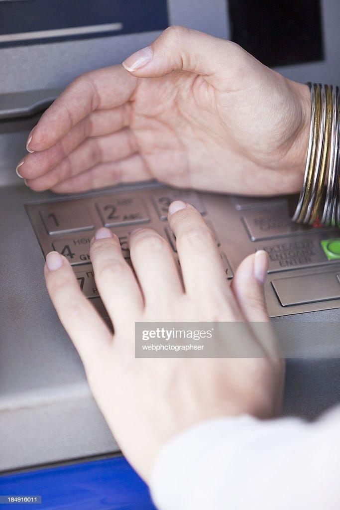 Hiding PIN entry
