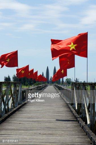 Hien Luong Bridge, Vietnam war DMZ