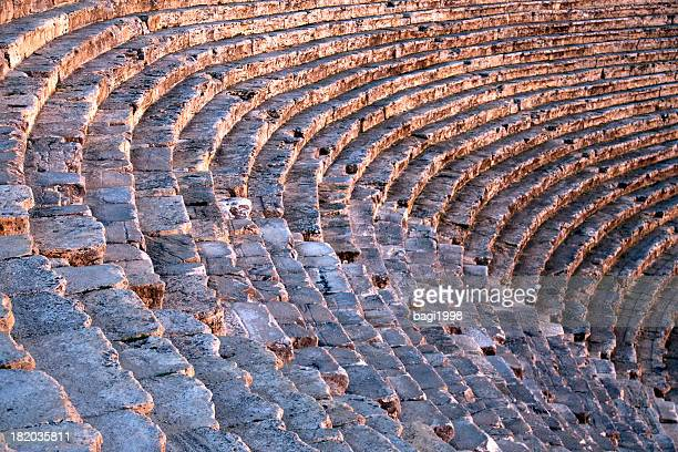 Hierapolis theater, Pamukkale, Denizli/TURKEY