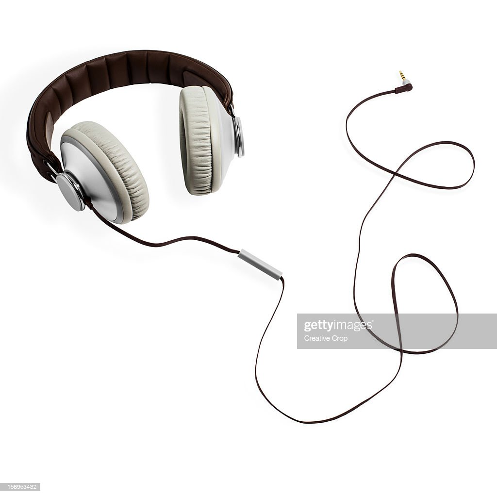 Hi-Fi Headphones : Stock Photo