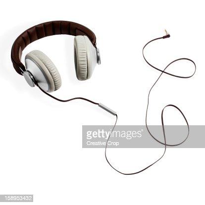 Hi-Fi Headphones : Stock Photo