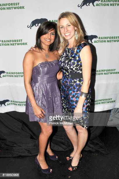 Hifza Nosheen and Katie Steele attend RAINFOREST ACTION NETWORK's 25th Anniversary Benefit Hosted by CHRIS NOTH at Le Poisson Rouge on April 29 2010...