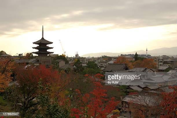 Higashiyama from Kodai-ji