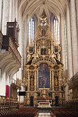 baroque high altar church st catherine