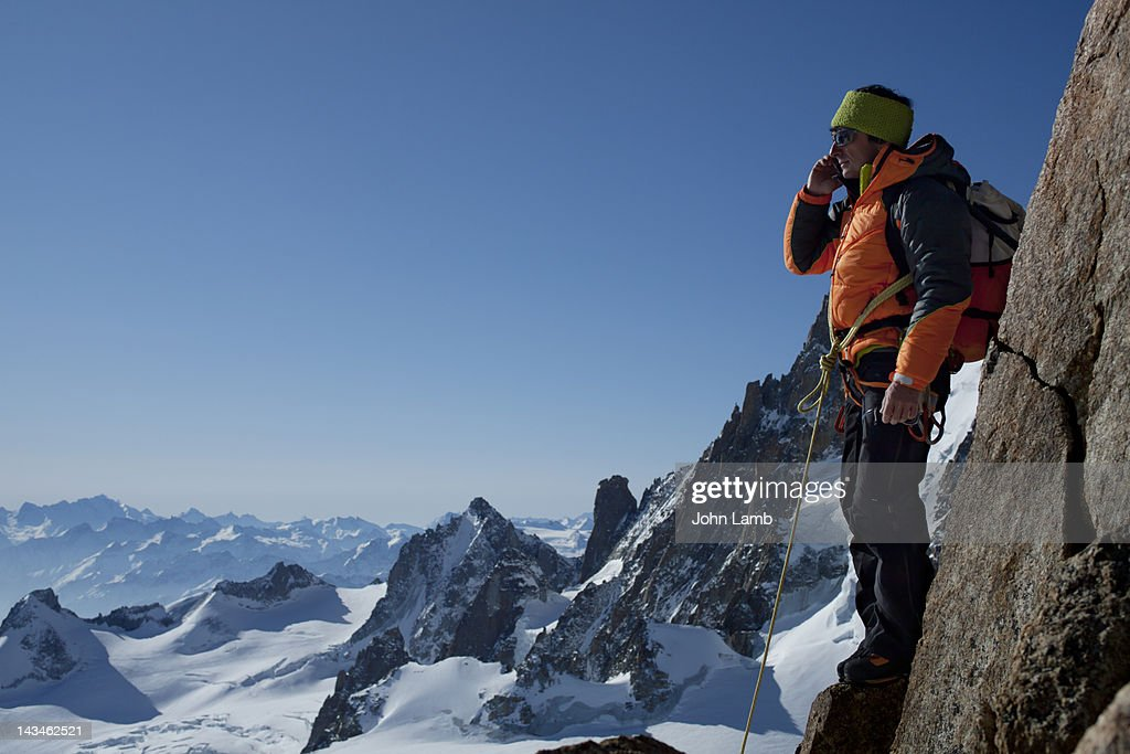 High Altitude Call : Stock Photo