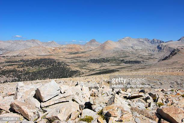 High altitude desert in the High Sierra