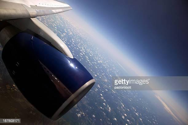 High Altitude Earth's Curvature XXXL