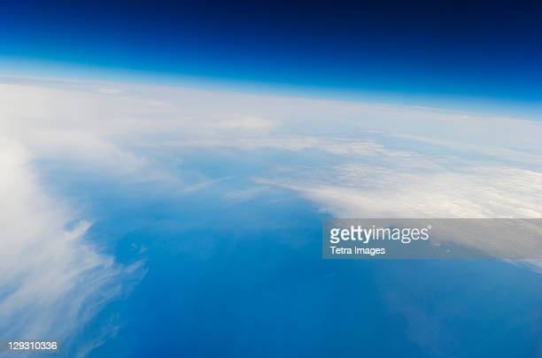 High altitude photo of Earth