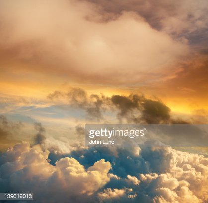 High Altitude Sunset Cloudscape : Photo
