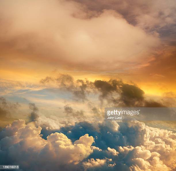 High Altitude Sunset Cloudscape