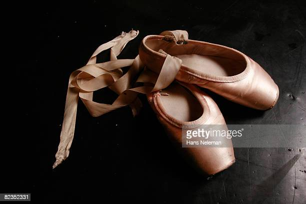 High angle view of a pair of ballet slipper, Montevideo, Uruguay