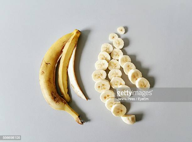 High Angle View Of Banana