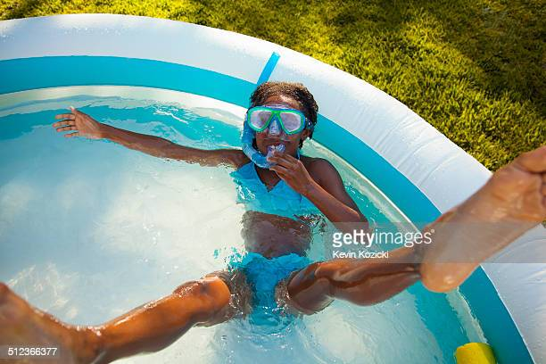 Black girl in bikini stock photos and pictures getty images for Garden paddling pool