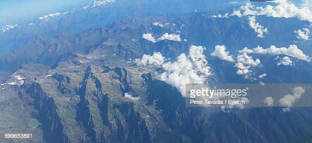 High Angle View Of Mountains