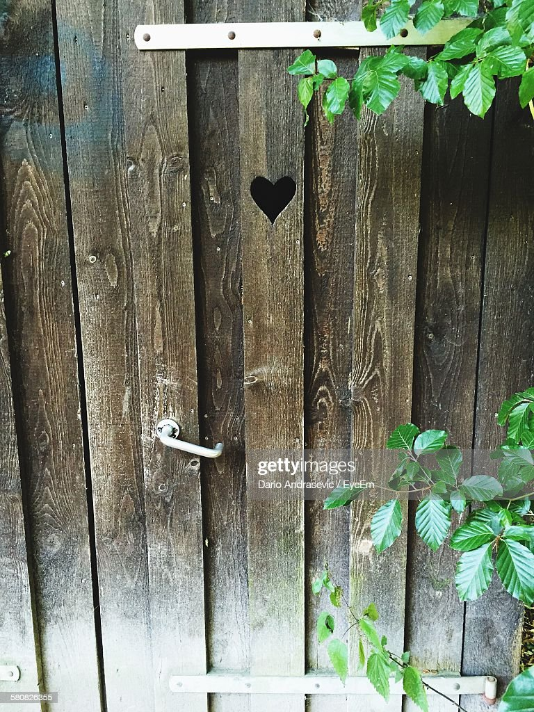 High Angle View Of Old Outhouse Door & Wood Outhouse Doors \u0026 A Heart On An Outhouse Door. Pezcame.Com