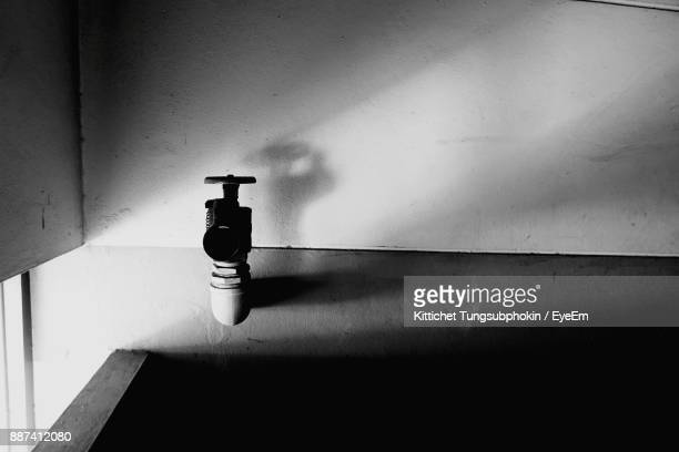 High Angle View Of Sink