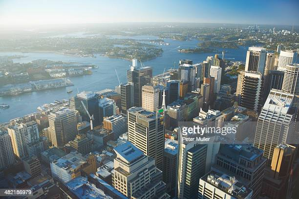 High angle view of Sydney, Australia