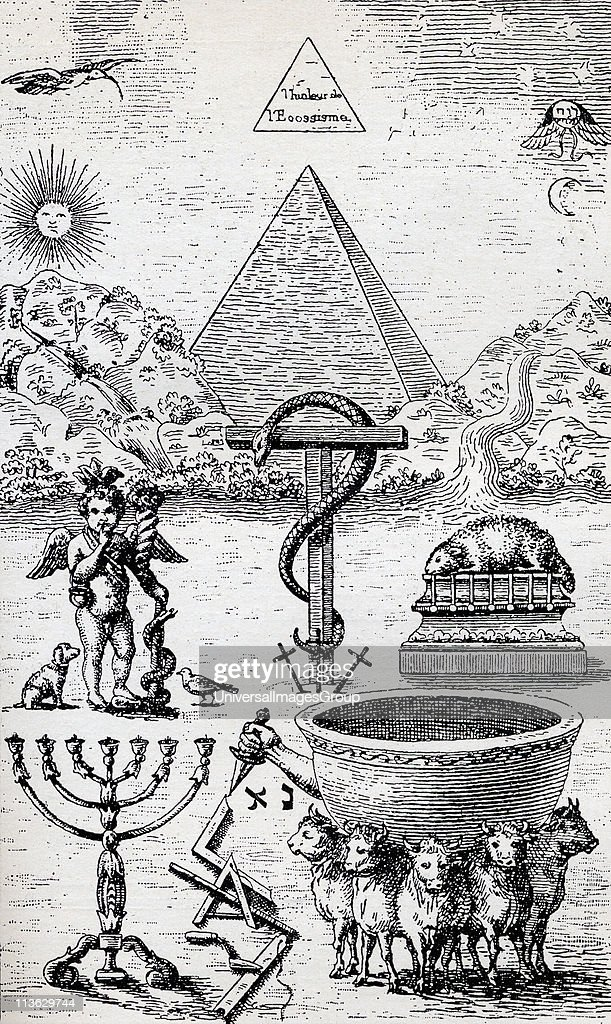 High Degree Symbols From the book The Freemason by Eugen Lennhoff published 1932