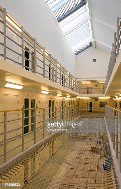 High Down Prison Sutton United Kingdom Architect Pick Everard Architects High Down Prison Cell Block Interior