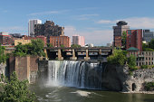 High Falls area of Rochester