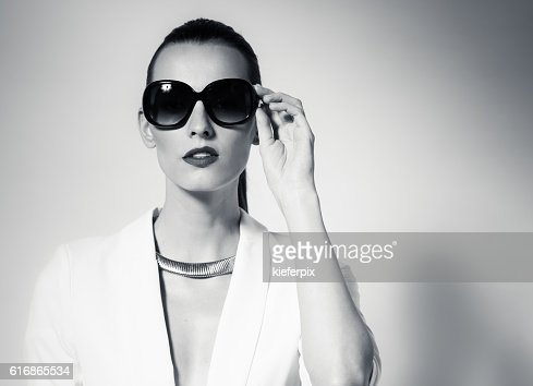 High fashion female model : Stock Photo