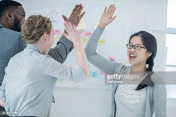 High Fives at the Office