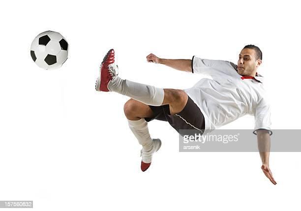 High-soccer player