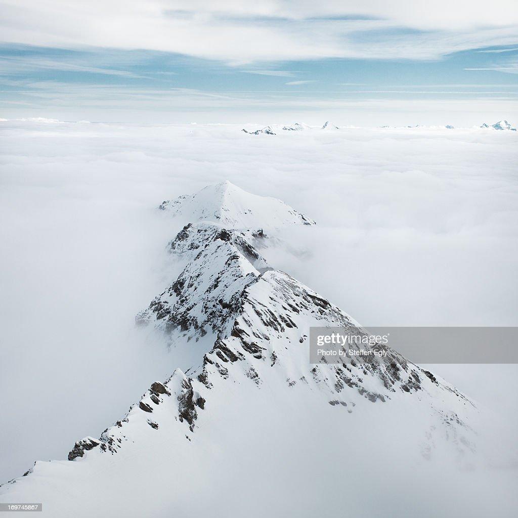 High fog Alps