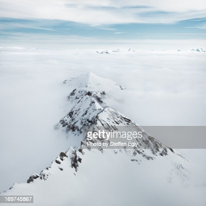 High fog Alps