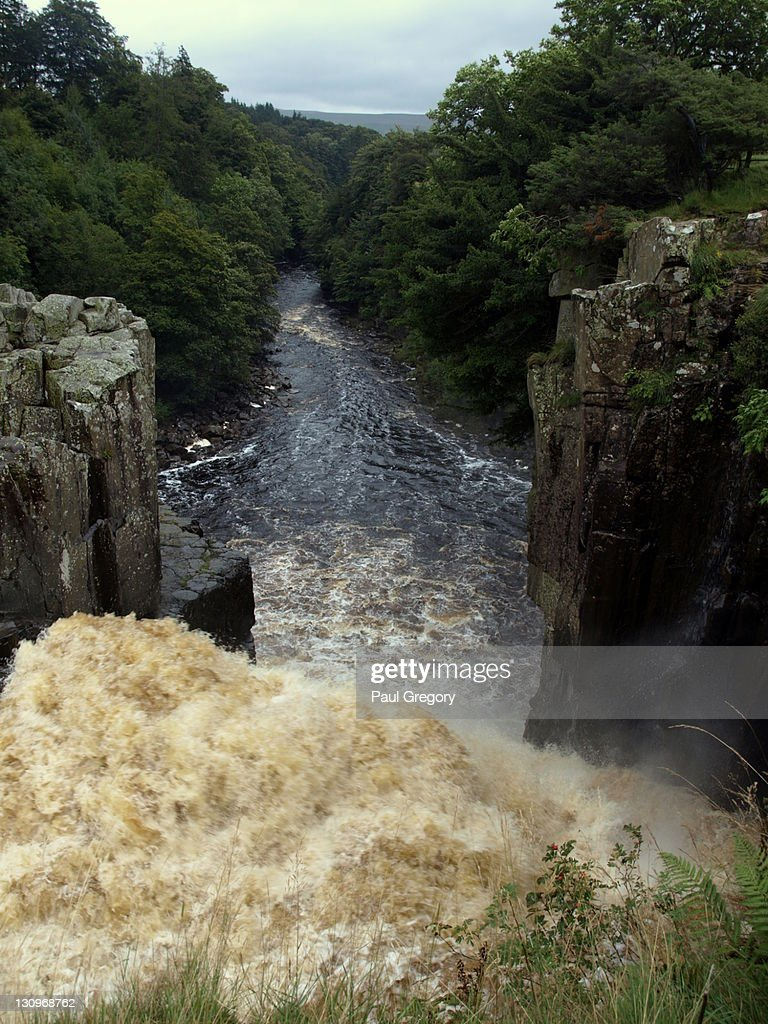 High force waterfall : Stock Photo