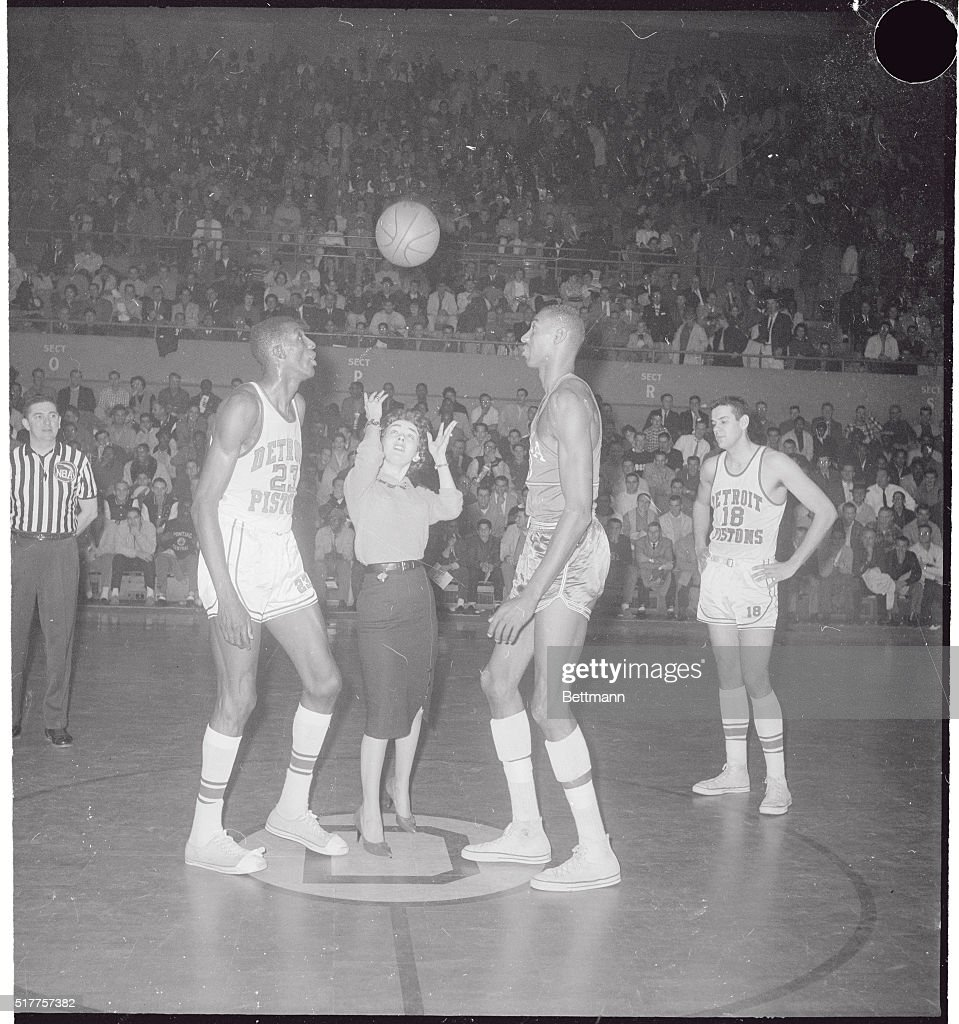 Walter Dukes Dixie Qualset and Wilt Chamberlain