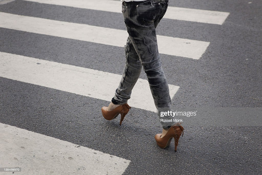 High heels : Stock Photo