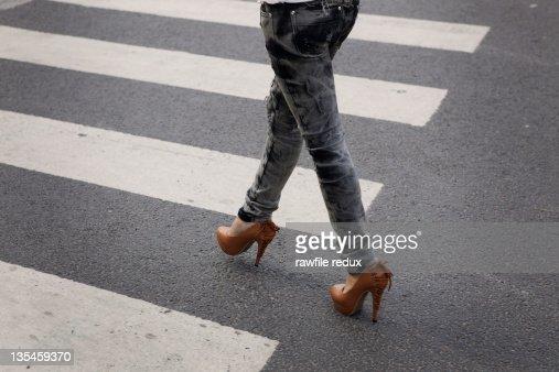 High heels : Stock Photo