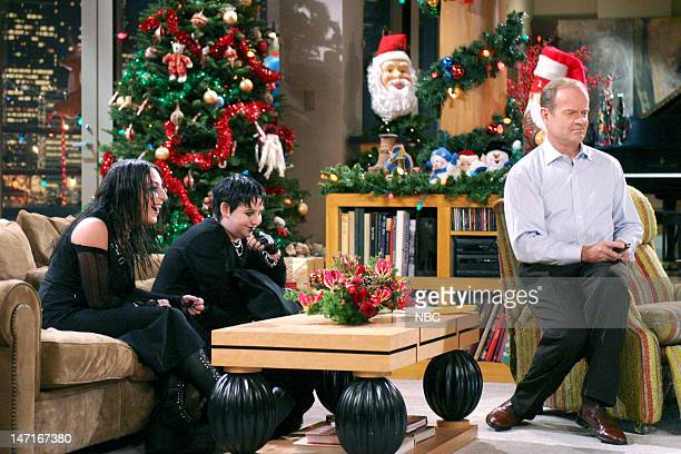 FRASIER 'High Holidays' Episode 11 Pictured Marisa Guterman as Andi Trevor Einhorn as Frederick Gaylord Taylor Kelsey Grammer as Dr Frasier Crane