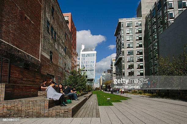 High Line Park, Chelsea, New York, USA