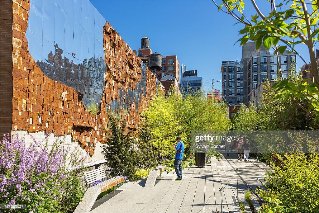 High Line Public Park, New York City