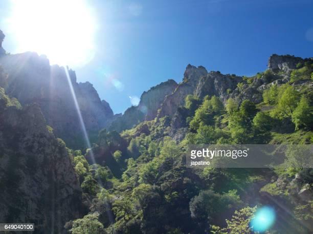 High mountain landscape in  Picos de Europa, Asturias