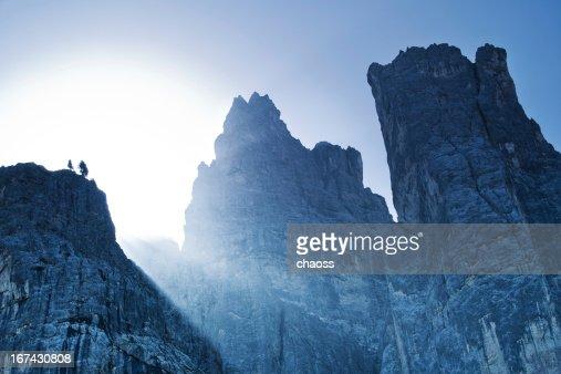 High mountains : Stock Photo