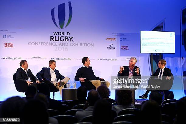 High Performance 15's Match Official Manager World Rugby and RWC 2007 referee Alain Rolland International referee Nigel Owens Director of Rugby...