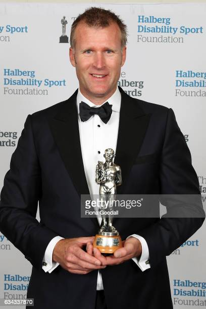 High Performance Sport NZ Sportsman of the Year Olympic Rower Mahe Drysdale at the 54th Halberg Awards at Vector Arena on February 9 2017 in Auckland...