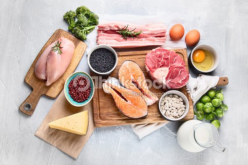 High Protein Foods : Stock Photo