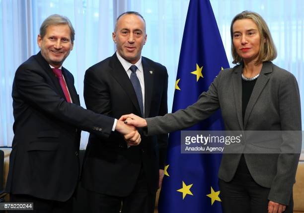 High Representative of the European Union for Foreign Affairs and Security Policy and VicePresident of the European Council Federica Mogherini Kosovo...