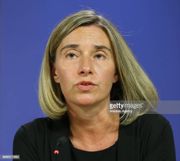High Representative of the Union for Foreign Affairs and Security Policy Federica Mogherini President of the European Commission JeanClaude Juncker...