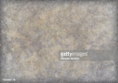 High Resolution Antique Animal Skin Parchment Vignette Grunge Texture