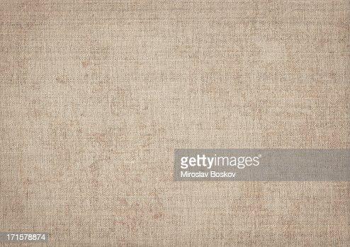 High Resolution Artist Natural Linen Canvas Grunge Texture