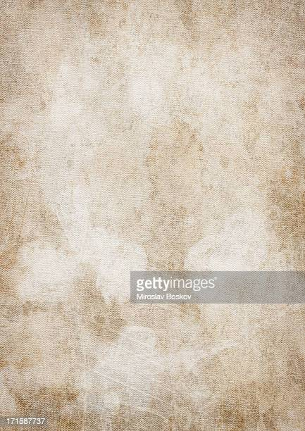 High Resolution Artist Primed Cotton Duck Vignetted Grunge Canvas Texture