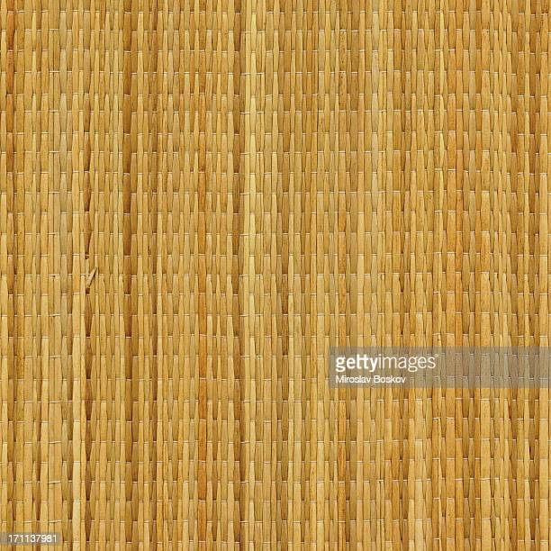 High Resolution Beach Straw Mat Texture Sample