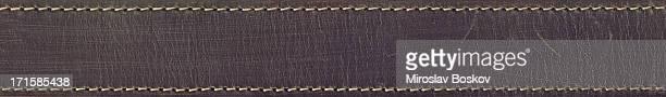 Hochauflösende Brauner Ledergürtel Grunge-Textur