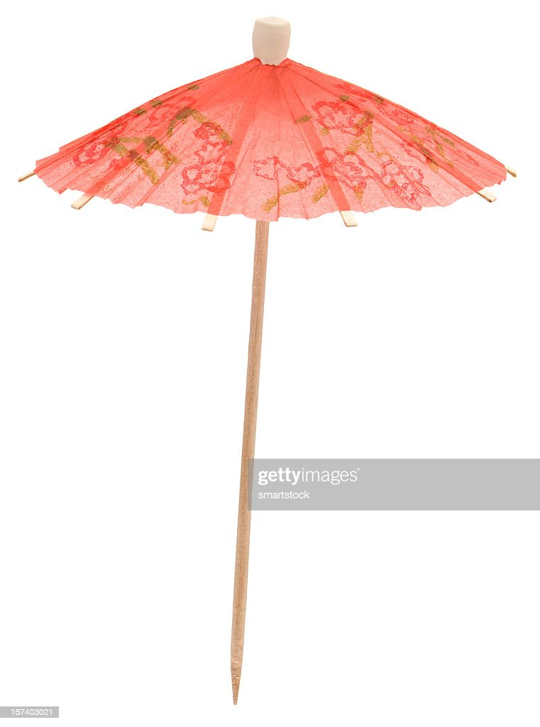 High Resolution Cocktail Umbrella
